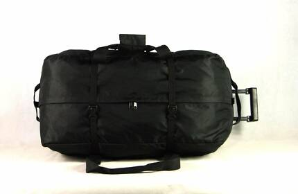 RD026 Large ROLLING Duffel WHEELED Travel Duffel BLACK (90Litre) Marangaroo Wanneroo Area Preview
