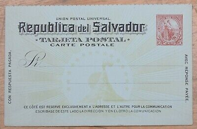 MayfairStamps El Salvador 1894 Universal Postal Union 3 Cents Mint Stationery Ca