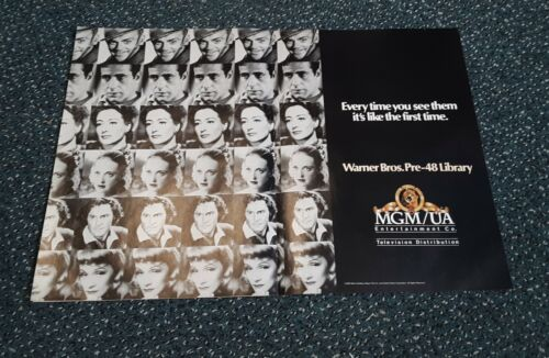Warner Brothers MGM Pre-48 Library 2 page ad