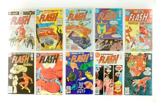 The Flash #239,298,300,306,308,315,326,327,328,336 Lot (1959 1st Series) FN/ VF