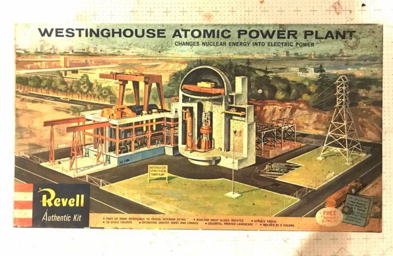REVELL WESTINGHOUSE ATOMIC POWER PLANT BUILDING KIT