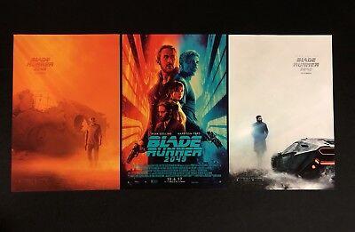 Blade Runner 2049 Mini Movie Poster 3 Set - 11.5x17 - Ryan Gosling Harrison Ford
