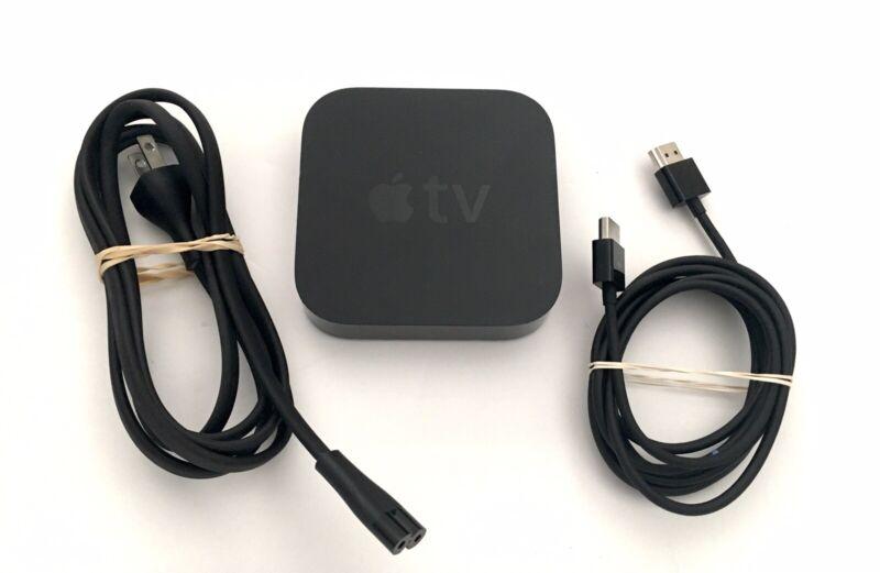 Apple TV (3rd Generation) A1427 Original Power & HDMI Media Streamer
