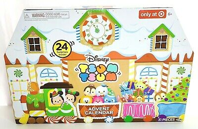 Disney Tsum Tsum Advent Calendar 2017 Train Railroad 31pc Target Exclusive Jakks