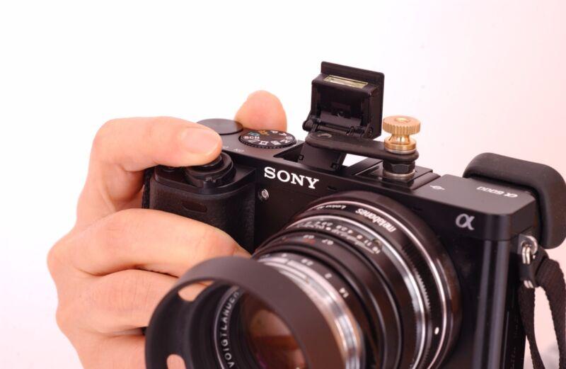 Sony A6000 flash finger ( bounce card effect)