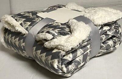 Sherpa Throw Luxury Blanket Twin Size 60