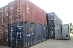 40' STORAGE CONTAINERS Shipping container sea can