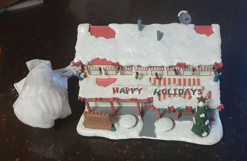 HAWTHORNE VILLAGE SPRINGFIELD RETIREMENT CASTLE SIMPSONS CHRISTMAS VILLAGE LIGHT
