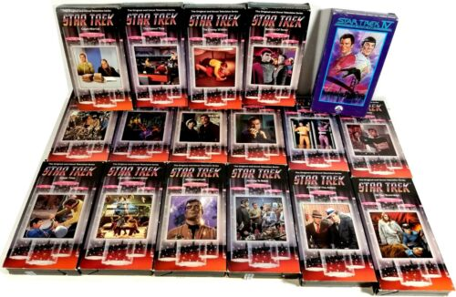 Star Trek The Original Series on 16 VHS Tapes and Star Trek IV The Voyage Home
