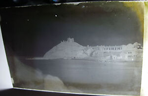 Lot49-1890s-UNKNOWN-SEASIDE-TOWN-With-DEFENCES-Glass-Negative