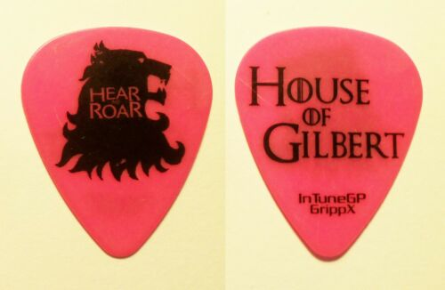 New Found Glory Chad Gilbert Hear Me Roar Pink Guitar Pick - NFG
