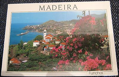 Portugal Madeira Funchal Western View - posted 1997