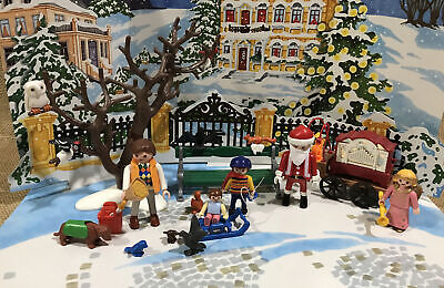 Playmobil 4152 Christmas in the Park Advent Calendar Replacement Pieces Lot