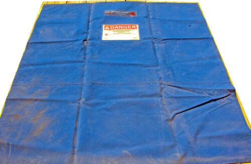 """Kentek Laser Containment Curtains 71"""" x 77"""" 3 Panels"""