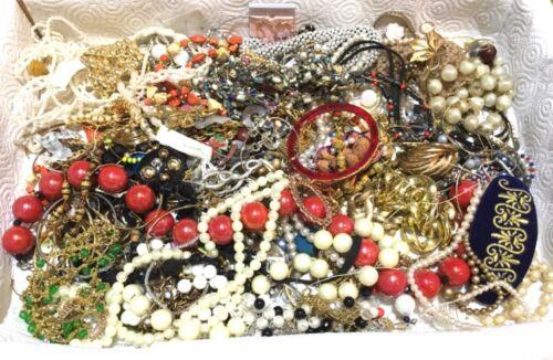 4 Pound Junk Jewelry Lot