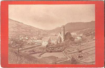 CAB photo Historische Ansicht einer Stadt - Österreich 1880er