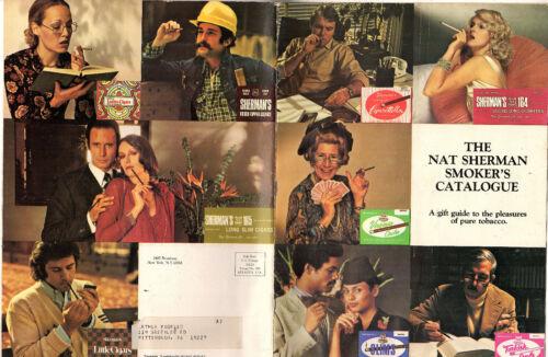 Vintage Nat Sherman Smokers Catalogue Fancy Cigarettes Cigars Pipes Tobacciana