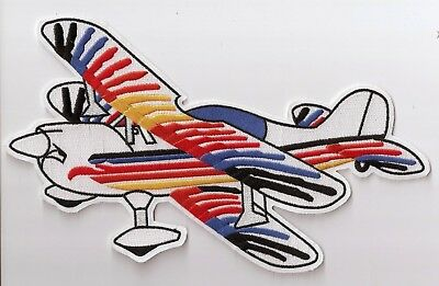 CHRISTEN EAGLE Airplane Aircraft Aviation Collectable Emb. Patch Jacket Size