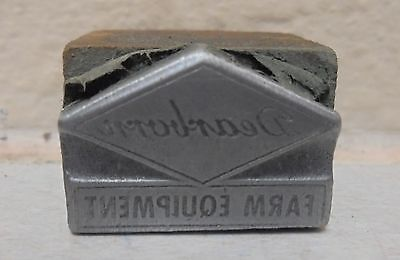 Vintage Printing Letterpress Printers Block Dearborn Farm Equipment