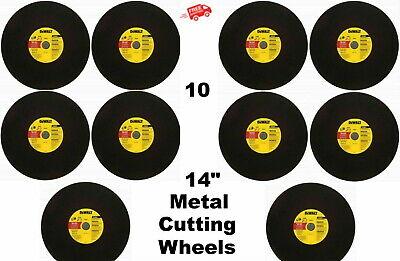 Metal Cutting Abrasive Cutoff Wheels 10 Pack 14 X 18 X 20mm A24r Blade