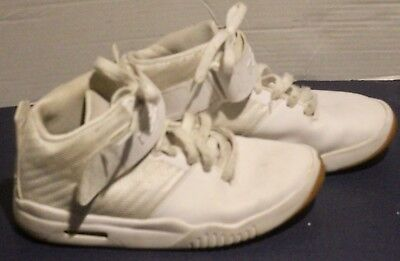 best sneakers 1265b ae937 Nike Air Akronite Big Kids 819832-100 White Lebron Shoes Youth Size 6