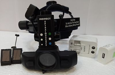 New Led Rechargable Binocular Indirect Ophthalmoscope With Accessories