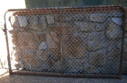 Antquie Farm-Yard Gate H/D Steel + Mesh 1100mm~H x 1800mm~W Queanbeyan Queanbeyan Area Preview