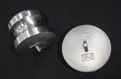 Stainless Steel Cam Lock Adapter Plug 2 Male Seal Clp-200