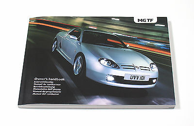 MG TF Owner's Handbook (RCL 0606) *NEW/UNUSED*