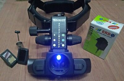 Wireless Binocular Indirect Ophthalmoscope With Accessories Mg-52