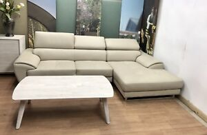 Genuine leather Chaise Lounge from Nick Scali