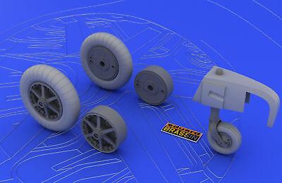 Eduard Accessories 632004 - 1:72 Bf 109E Wheels For Eduard - Resin Bausatz - Neu