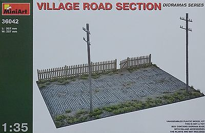 MINIART #36042 Village Road Section Diorama in 1:35