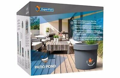Superfish Patio Pond / Pre Formed Pond / Complete All In One With Filter And UV