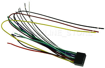 WIRE HARNESS FOR KENWOOD DDX-374BT DDX374BT *PAY TODAY SHIPS