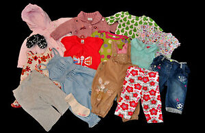 SET OF 15 CLOTHES FOR 3-6 MONTHS BABY GIRL NEXT M&S GEORGE GAP