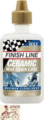 Finish Line Ceramic Wax Bicycle Chain Lube  2Oz Drip