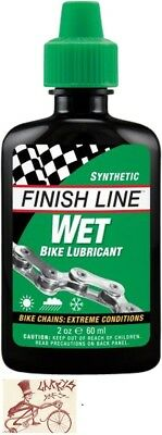 Finish Line Wet  Bicycle Chain Lube  2Oz Drip