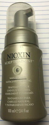 Nioxin System 6 Scalp Treatment  3.4 oz Original Formula NEW  3.4 Ounce Nioxin System