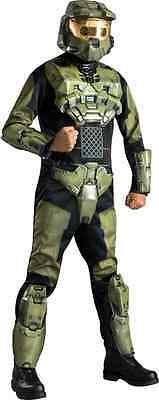 ficer John-117 Military Soldier Halloween DLX Adult Costume (Halo Master Chief Halloween-kostüm)