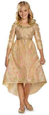 Aurora Coronation Gown Disney Maleficent Fancy Dress Up Halloween Child Costume ()