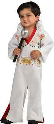 Elvis Presley White Aloha Eagle Fancy Dress Halloween Baby Toddler Child - Toddler Elvis Presley Halloween Costume