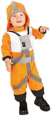 X-Wing Fighter Pilot Star Wars Fancy Dress Up Halloween Toddler Child Costume](Original Baby Halloween Costumes)