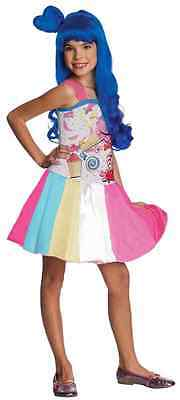 Katy Perry Costum (Candy Gurl Katy Perry Music Video Pop Star Fancy Dress Halloween Child)