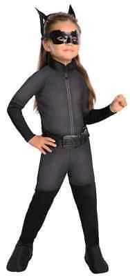 Catwoman Batman Dark Knight Superhero Fancy Dress Up Halloween Child Costume