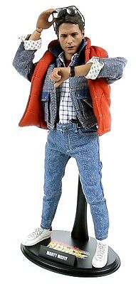 HOT TOYS 1/6 BACK TO THE FUTURE MMS257 MARTY MCFLY SPECIAL EDITION ACTION FIGURE