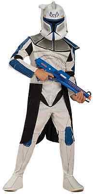Captain Rex Clone Trooper Star Wars Fancy Dress Up Halloween Child Costume - Star Wars Captain Rex Halloween Costume