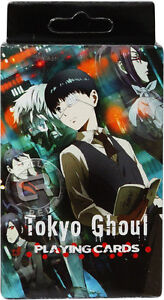 Tokyo Ghoul Anime Playing Cards 52-Card One Deck Officially Licensed New