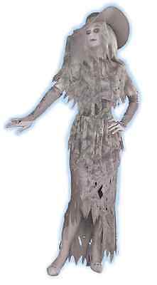 Ghostly Gal Woman Ghost Spirit Victorian Fancy Dress Up Halloween Adult Costume