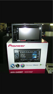 ^** PIONEER DOUBLE DIN DVD DECK AVH-2400BT BLUETOOTH!!